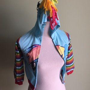 Yimeiyibei Girls Unicorn Hoodie Jacket